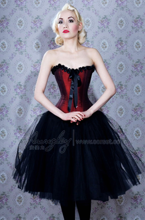 Sexy Black Lace Gothic Burgundy Corset Top With Removab. Sexy Black Lace  Gothic Burgundy Corset Top With Removab · Corset Dresses c011975b706b